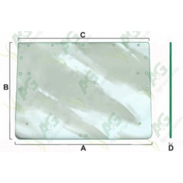 Rear Window Glass