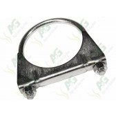 Exhaust Clamp  2 5/8 Inch (66mm)