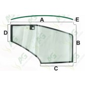 Door Glass Curved