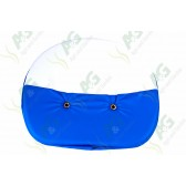 Seat Cushion Ford Blue + White
