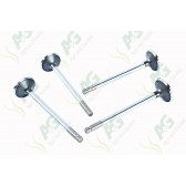 Exhaust Valve  .015 Oversize - Set -