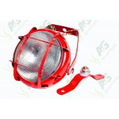 Ploughlamp Red With Grill
