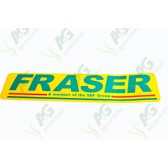 Decal: Frazer Green Letters