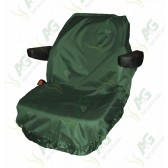 Seat Cover; Tractor Large Green