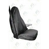Seat Cover; Transit Single Black