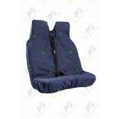 Seat Cover; Van Double Blue