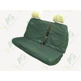 Seat Cover; Multi Fit Rear Green