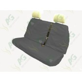 Seat Cover; Multi Fit Rear Grey