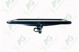 Mirror Head Black 254 X 200mm Flat