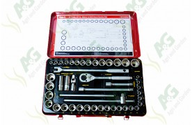 Socket Set 1/2 Inch Drive 46Pc