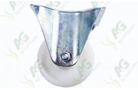 Castor Nylon Fixed Plate 3 Inch