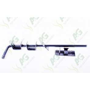 Garage Door Bolt Black 18 Inch