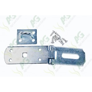 Hasp And Staple 7 Inch