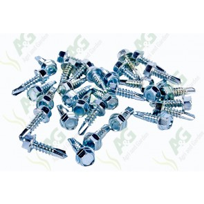 Tek Screw 12G X 19 X 6mm (100)