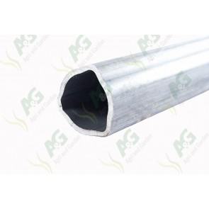 Triangular Profile Tube 1 Metre (45 X 5.5mm)