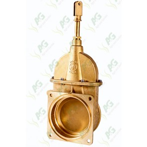 Brass Valve Thread/Bolt On 6 Inch