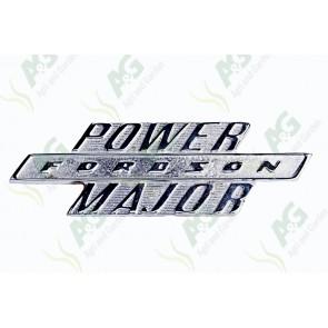 Badge Power Major Side