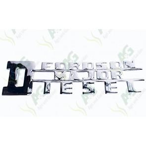 Badge Fordson Major Diesel Side