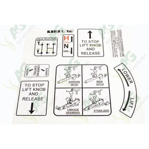 AGPA9502 badge decals tractor parts for massey ferguson, ford, case david brown 1200 wiring diagram at reclaimingppi.co