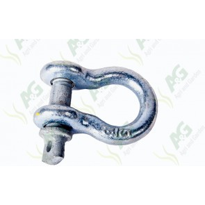 Galvanised Bow Shackle Screw 3/4 Tonne