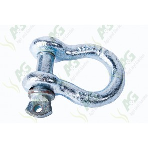 Galvanised Bow Shackle Screw 1 Tonne