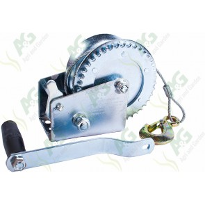 Winch With Wire Rope 10M 550Kg
