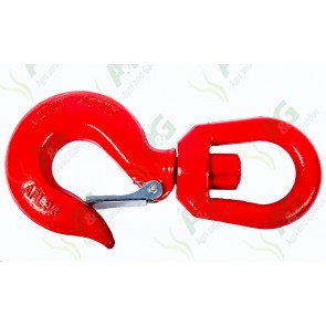 Swivel Hook With Safety Catch 7 Ton