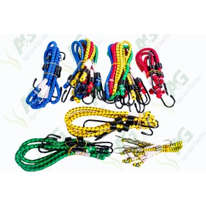 Bungee Cord Assorted 24Pc