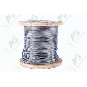 Wire Rope Galvanized - 5 mm - Sold Per Metre