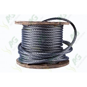 Wire Rope Galvanized - 10 mm - Sold Per Metre