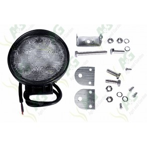Work Lamp 10-30V Round Led