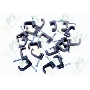 Cable Clip 14mm Grey (100)