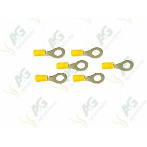 Yellow Ring Terminal 8mm