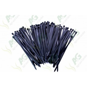 Cable Tie 4.8 X 200mm Black (100)