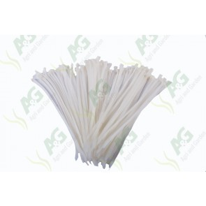 Cable Tie 4.8 X 200mm White (100)