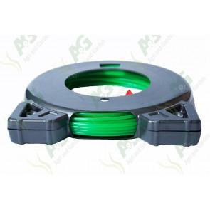 Std Round Strimmer Line 2.0mm Green 15M