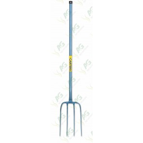 4 Prong Manure Fork, All Steel