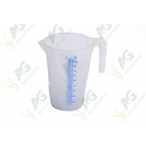 Calibrated Liquid Measure Plastic 2 Litre