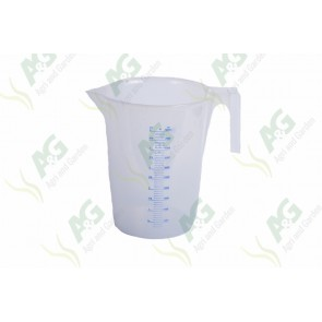 Calibrated Liquid Measure Plastic 5 Litre