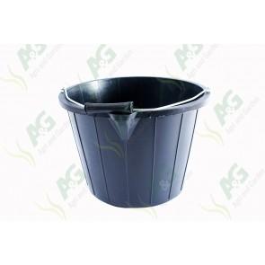 Black Bucket 15L