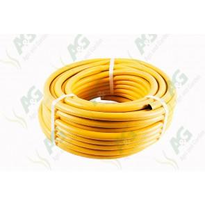 Yellow Reinforced Garden Hose 1/2 Inch 30M