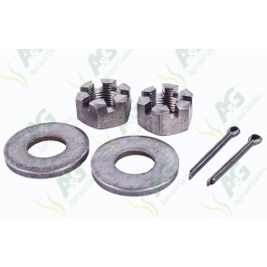 Axle Nut Castellated 3/4 Unf