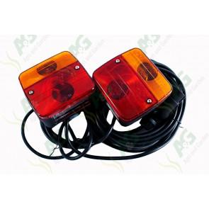 Trailer Lamp Set Magnetic 12 Volt