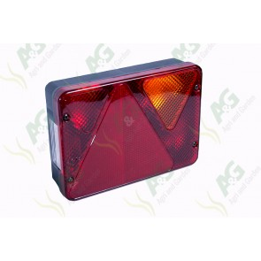 Tail Lamp With Socket RH
