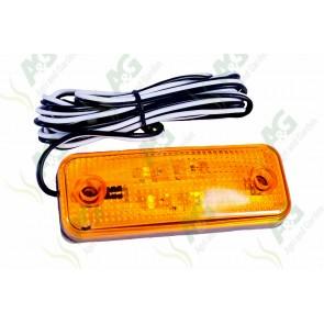 Marker Lamp Flat Type Amber Small Led