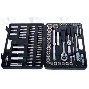 Socket Set 1/4 Inch And 1/2 Inch Drive 94Pc