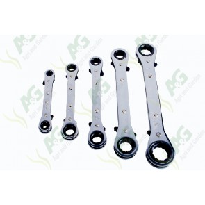 Ratchet Spanner Set 5Pcs
