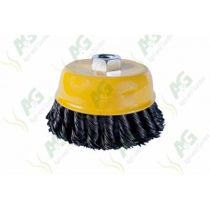 Wire Brush Twisted 100mm