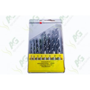 Drill Set Wood 8Pc