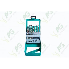 Drill Set Titanium 19Pc